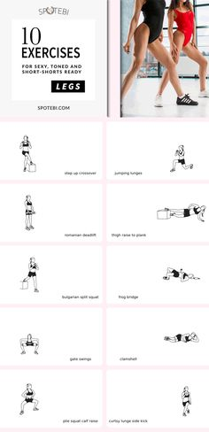 Sculpt, firm and tone short-shorts worthy gams with the help of this sexy legs workout! https://www.spotebi.com/workout-routines/sexy-legs-workout-short-shorts-worthy-gams/