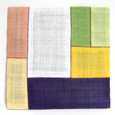 tea mat with ramie fabric