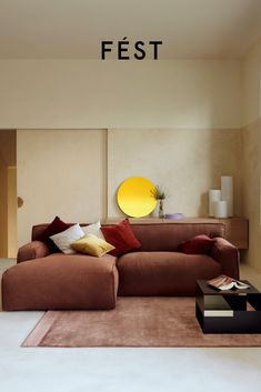 Living Room Modern, Living Room Interior, Small Living, Everything Is Possible, Sofa Ideas, Modular Design, Couches, Separate, Clay