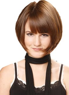 great look for short thin hair | Short Hairstyles For Thin Hair | Medium Hairstyle Tips