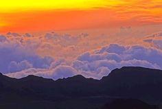 haleakala sunrise: maui