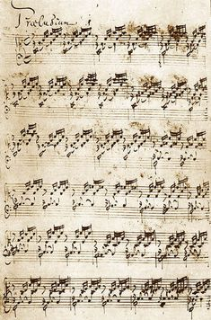 J. S. Bach (1685-1750) - *The Well Tempered Clavier Book I* - Prelude No. 1 in C major (BWV 846)