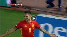 WCQ: Vitolo goal -- Spain (63')