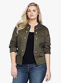 TORRID.COM - Military Jacket