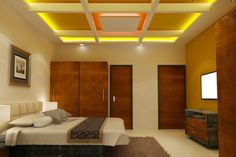 All You Need to Know About Designer False Ceiling is Here False Ceiling Cost, Best False Ceiling Designs, False Ceiling Living Room, Bedroom False Ceiling Design, Bedroom Ceiling, Bedroom Decor, Design Bedroom, Wall Design, House Design