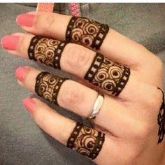 Eid Mehndi-Henna Designs for Girls.Beautiful Mehndi designs for Eid & festivals. Collection of creative & unique mehndi-henna designs for girls this Eid Henna Hand Designs, Mehndi Designs Finger, New Bridal Mehndi Designs, Mehndi Designs For Girls, Unique Mehndi Designs, Mehndi Designs For Fingers, Beautiful Mehndi Design, Henna Tattoo Designs, Fingers Design