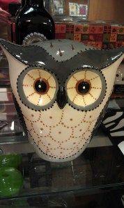 Owl Statue.  Good design for wool appliqué