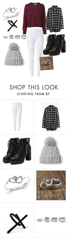 """""""Vernon"""" by xleeleeboox ❤ liked on Polyvore featuring Madewell, Kevin Jewelers, Emi Jewellery and Forever 21"""