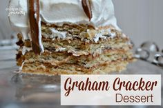 Graham Cracker Dessert Recipe