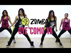 Oye | Zumba Fitness with Madelle, Kristie, Roz and Jemie | Live Love Party - YouTube