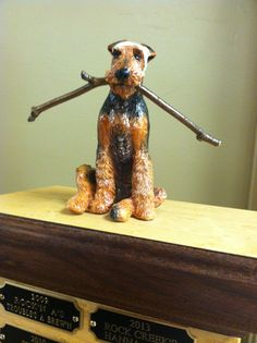 Oregon Airedale Terrier Society 'Best Puppy' trophy