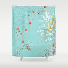 Under the Sea Shower Curtain by Simi Design - $68.00