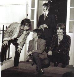 Richard Starkey, John Lennon, Paul McCartney, and George Harrison (Apple)