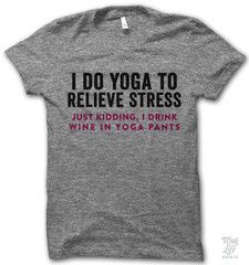i do yoga to relieve stress