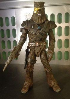 Bounty Hunter Chewbacca - Black Series (Star Wars) Custom Action Figure