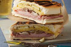Find the recipe for Grilled Cuban Sandwich (<em>Sandwich Cubano</em>) and other swiss cheese recipes at Epicurious.com