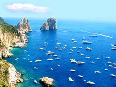 Capri, Italy - 'The Faragliogni'