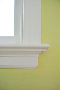 Sesame 381 by Benjamin Moore (color matched to Olympic's No-VOC paint in a semi-gloss finish).