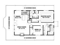 2nd Floor Plan, 012G-0125