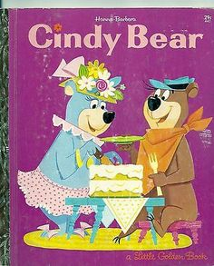 Rarest Little Golden Books   VINTAGE 1960's Children's Little Golden Book~CINDY BEAR