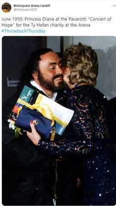 The Royal Digest: The Welsh Hospice with Links to Charles & Diana (& Pavarotti)