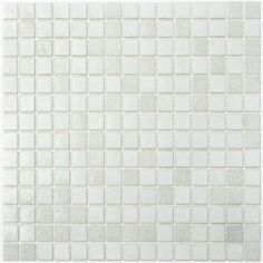 Glasmosaik Fliser Hvid Mix-TM33462