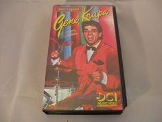Gene Krupa Jazz Legend DCI Music Video 1993 VHS Tape   #GeneKrupa #Jazz #Legends #Music #VHS #Video #Vintage #DCI #eBay