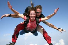 Do a Tandem Skydive. Before you die do a tandem skydive! What Makes You Happy, Are You Happy, Tv Show Games, Paragliding, Before I Die, Beautiful Sunrise, Skydiving, Tandem, So Little Time