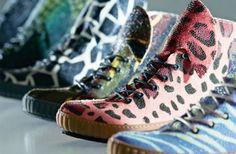Zapatillas diseñadas biogeneticamente   La marca RayFish Footwear se caracteriza por realizar zapatillas con piel de manta rayas...si lo leyeron bien, manta rayas.