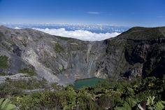 Crater Lake at Irazu Volcano in Costa Rica. Photo #33 by Rafael Golan