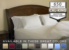 Create your own four star luxury suite with our 650 thread count sheets with the Milano Collection. Cal King Size, Luxury Sheets, Egyptian Cotton Sheets, Flat Sheets, Fitted Sheets, Linen Bedroom, Cotton Sheet Sets, California King