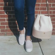 blush slip on sneake