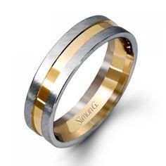 LG105 #weddingbands #mens #whitegold #wedding #luxury #SimonG #ArtisansJeweler