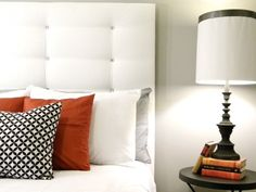 20 Versions of Headboards that  You Can Totally DIY tufted headboard