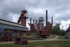 1. Sloss Furnaces - Birmingham, Alabama