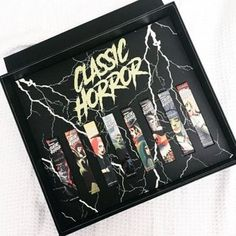 A true Halloween launch! LA Splash released theirspoooookyClassic Horror Liquid Lipstick Collection today, Friday, 10.13! The collection features incredible artwork inspired by the golden age of horror movies! The super retro comic book-looking monsters that just look so awesome!