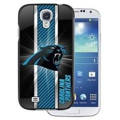 NFL Licensed Protector Case for Samsung Galaxy S4 - Carolina Panthers