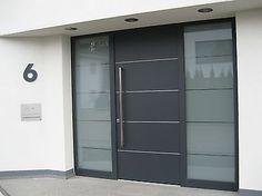 Details Zu Hausnummer Anthrazit RAL 7016 Zahl 25 Cm Oder 30 Cm Hoch  Türschild Tür Schild