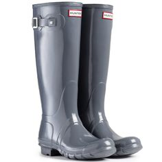 Hunter Womens Original Tall Gloss Synthetic Boots * Want additional info? Click on the image.
