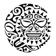 Maori-sun-moon-tattoo | Flickr - Photo Sharing!