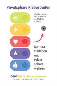 #Privatsphäre #Klebestreifen: #Kamera abkleben #Danke #Geschenk