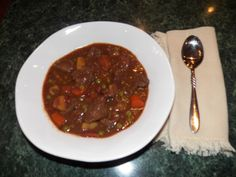 Crockpot Beef Stew--perfect for the wind chills of minus 50 below...