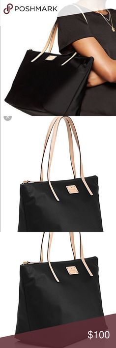 Kate spade nylon tote Good condition ; can fit a lot of stuff kate spade Bags Totes