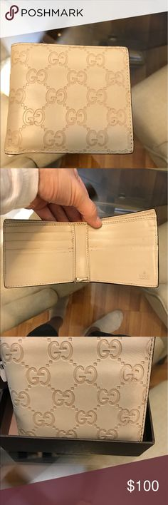 Gucci wallet Cream Gucci men's wallet Gucci Other
