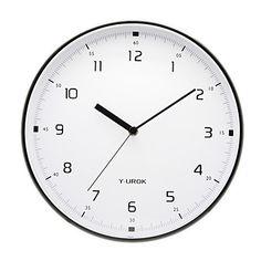 relógio de parede de metal - Y-Urok