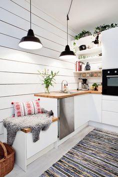 Beautiful swedish home. look at this kitchen my gosh