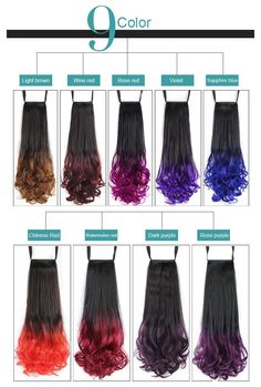 Wavy Ponytail, Ponytail Hair Extensions, Ponytail Hairstyles, Dark Purple Roses, Red Roses, Drawstring Ponytail, Queen Hair, Synthetic Hair, Dance Dresses