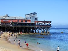 My boyfriend loved Monterey,CA. Pacific Grove California, Monterey California, California Dreamin', Usa Roadtrip, Road Trip Usa, Travel Usa, Beautiful Sites, Beautiful Places To Visit, Amazing Places
