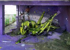 By Artur Bordalo's