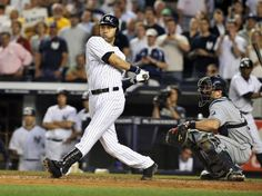 20 seasons, 1995-2014 added another chapter to his illustrious career by homering at Yankee Stadium to join the 3,000-hits club. The Yankees' captain was the first Bronx Bomber to join the exclusive list. Jeter also joined two other exclusive groups among those players that have 3,000 hits, becoming just the second player to reach the milestone via home run (Wade Boggs was the other), and the 11th player to reach the milestone with just one team.